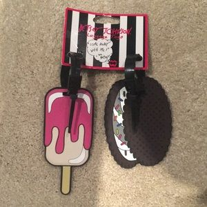 Betsy Johnson Luggage Tags